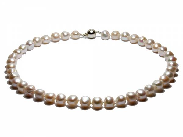 Celine - Baroque White Pearl Necklace-0