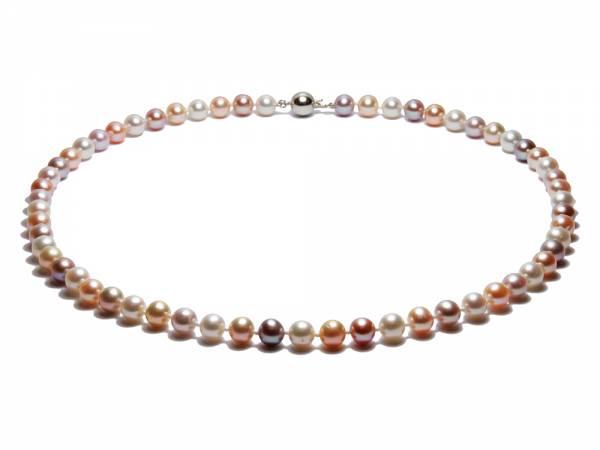Sandrine - Natural Color Pearl Choker-0