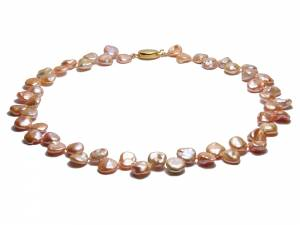 Ophelie - Natural Color Keshi Pearl Necklace-0