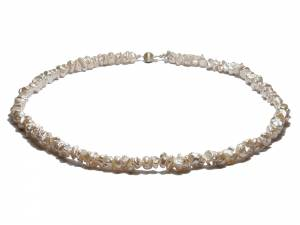 Muriel - White Pearl Necklace-0