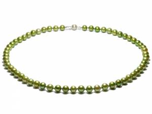 Jade - Green Pearl Necklace-0