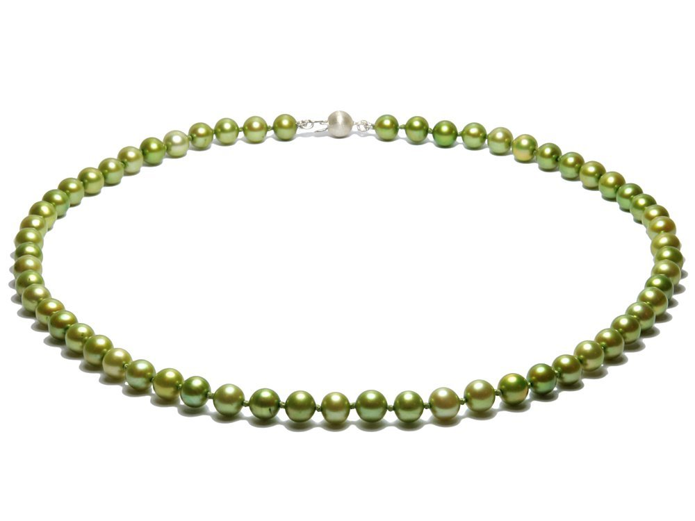 8c9f6101567 Jade – Green Pearl Necklace
