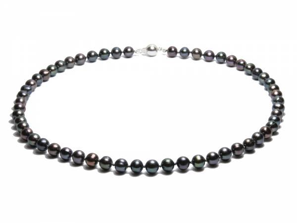 Manon - Black Pearl Choker-0