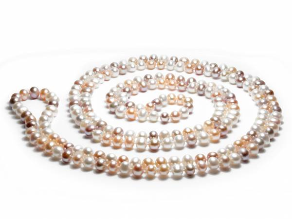 Laure - Natural Color Pearl Rope-0