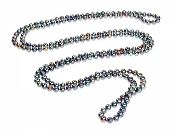 Lola - Peacock Black Pearl Rope-0