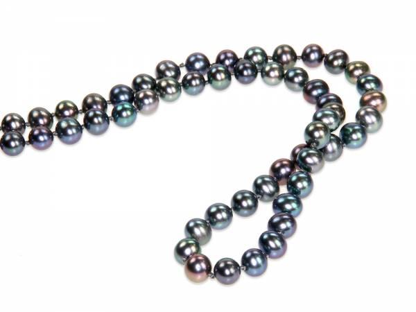 Lola - Peacock Black Pearl Rope-387