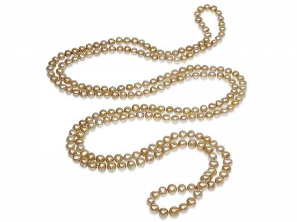 Aurea - Golden Pearl Rope-0