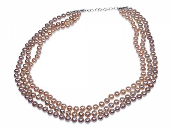 Baci d'Oro - Gold-toned Pearl Necklace-0