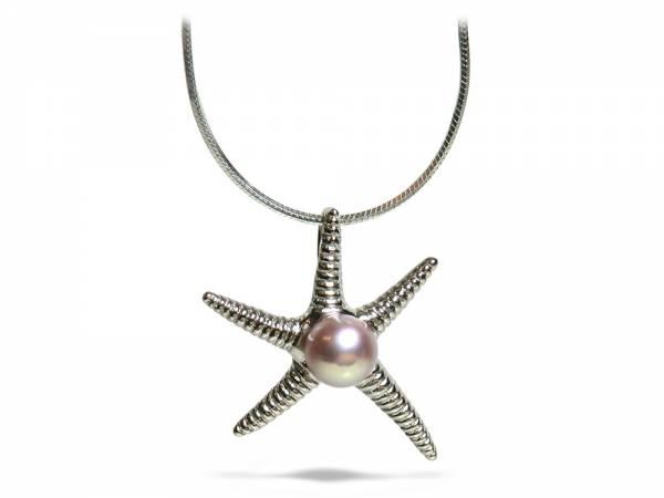 Starfish - Pearl Pendant-0