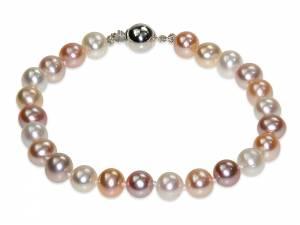 Sandrine - Natural-color Pearl Bracelet-0