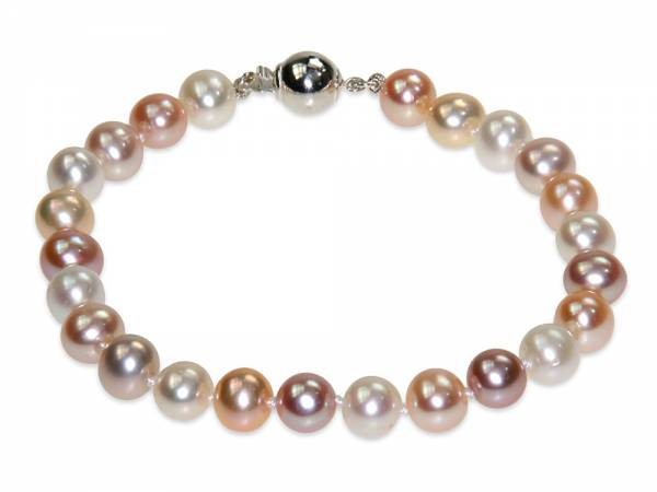 Sandrine - Natural-color Pearl Bracelet-0