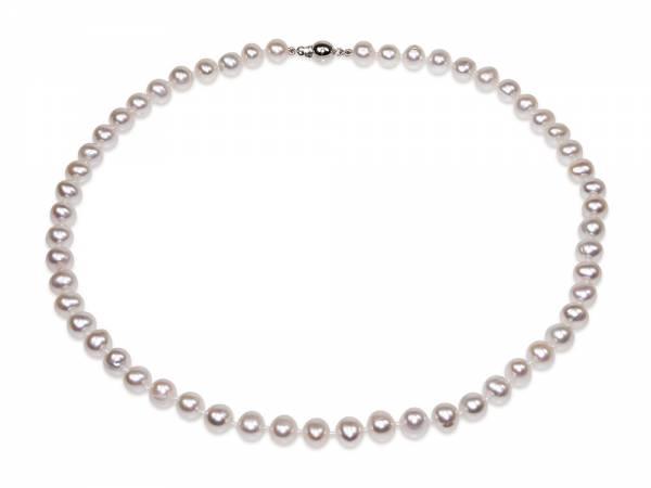 Marie - White Pearl Choker-0