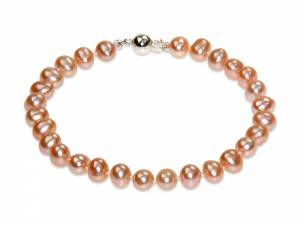 Princess Peach - Natural Color Pearl Bracelet-0