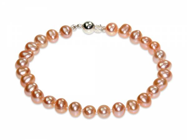 Princess Peach - Natural Color Pearl Bracelet-0