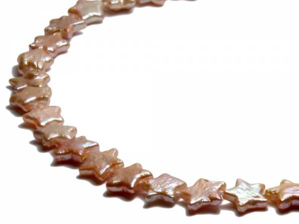 Mia - Pink Star-shaped Pearl Choker-252