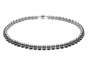 Silver Moon - Silver Pearl Choker-0