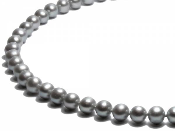 Silver Moon - Silver Pearl Choker-258