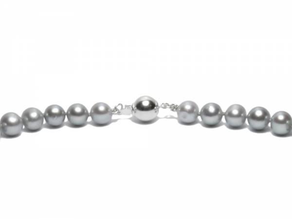 Silver Moon - Silver Pearl Choker-488