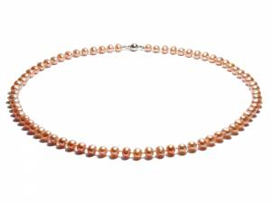 Princess Peach - Natural Color Pearl Necklace-0