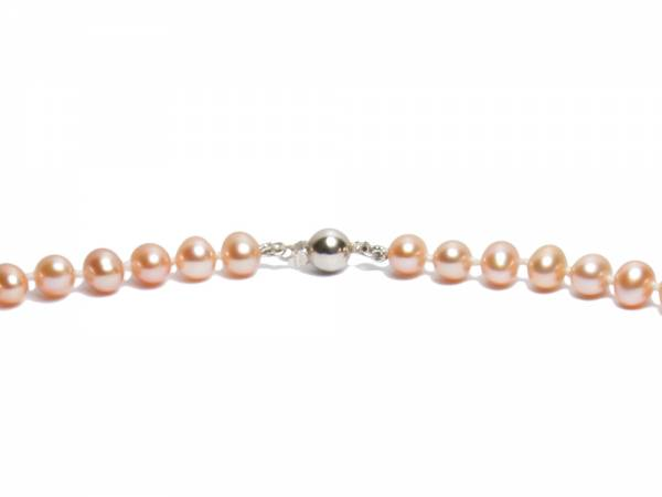 Princess Peach - Natural Color Pearl Necklace-268