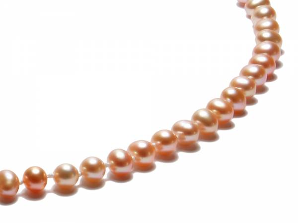 Princess Peach - Natural Color Pearl Necklace-498