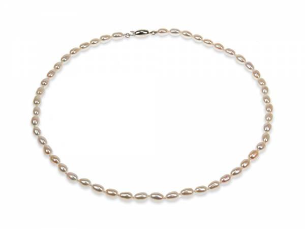 Zoe - White Oval Pearl Choker-0