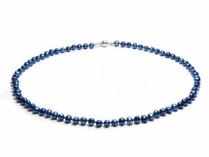 Oceane - Blue Pearl Necklace-0