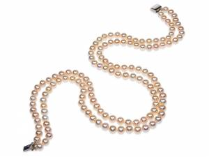 Helena - Naturally Golden Pearl Necklace-0