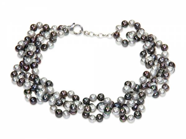 Kat - Small Round Pearl Bracelet-0