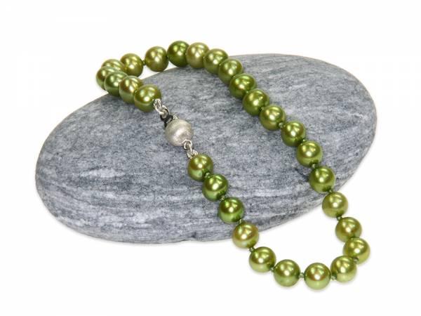 Jade - Apple Green Pearl Bracelet-320