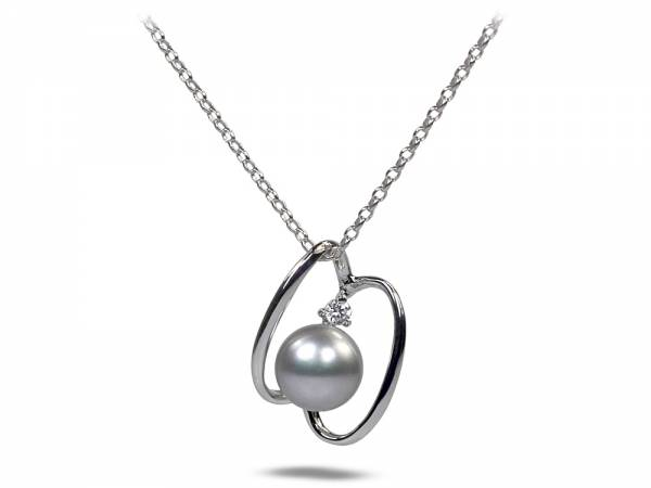 Butterfly Effect - Lavender Pearl Pendant-0