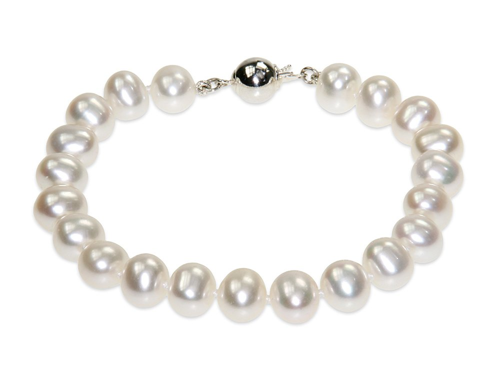 678cce7635e21 Catherine - Classic White Pearl Bracelet