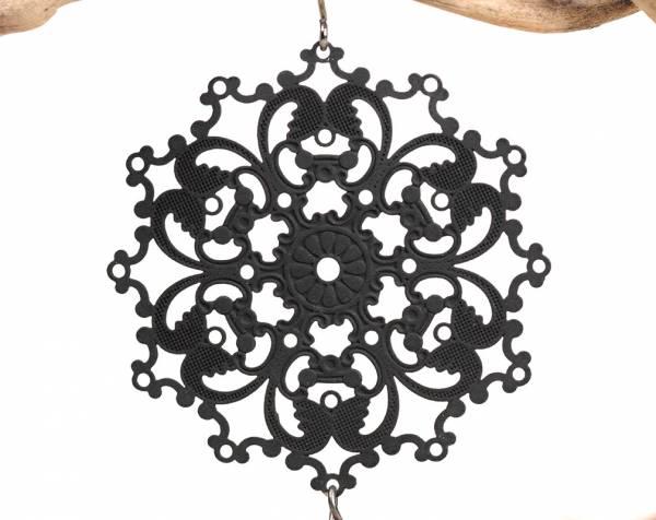 Veronica - Victorian Style Black Baroques-455