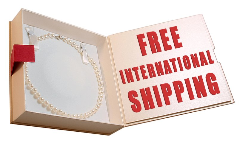 Get free international shipping on your jewelry order!
